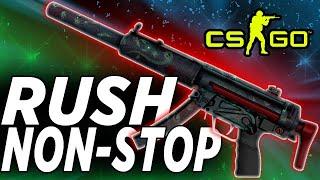 CS GO ММ МП5 лучшее оружие для раша RUSH NON STOP = MP5 SD