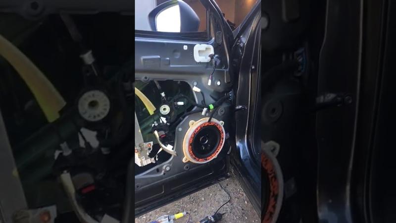 Замена штатной акустики в автомобиле Мазда сх 5 на dl Gryphon Lite 200