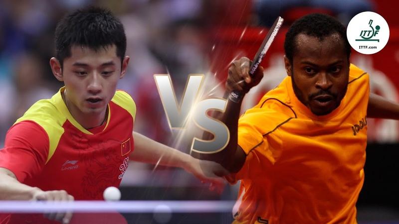FULL MATCH - Zhang Jike vs Quadri Aruna (2014) | ITTF Mens World Cup