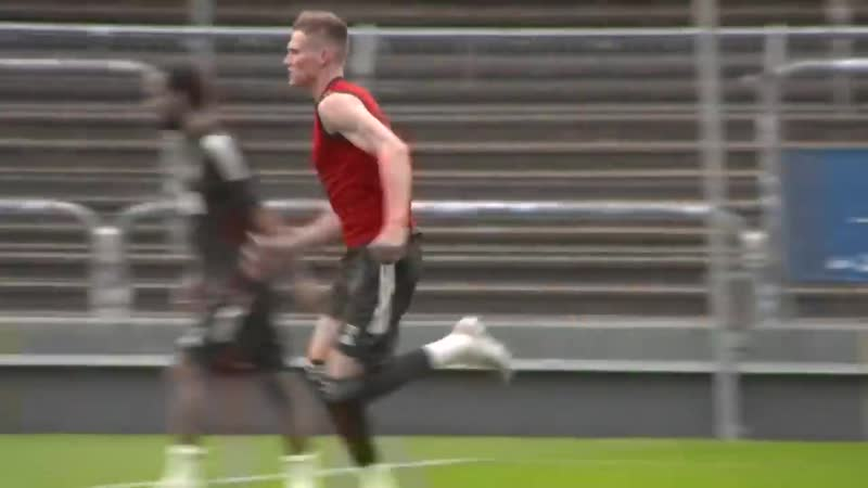 TRAINING Oles Reds putting in the hard yards ahead of Sevilla semi final Manchester United 720p