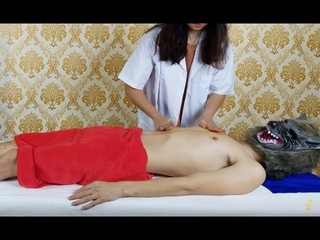 Healing Massage Way to Relieve Stress For Stomach Effect Of Coconut Oil In Massage Therapy #01
