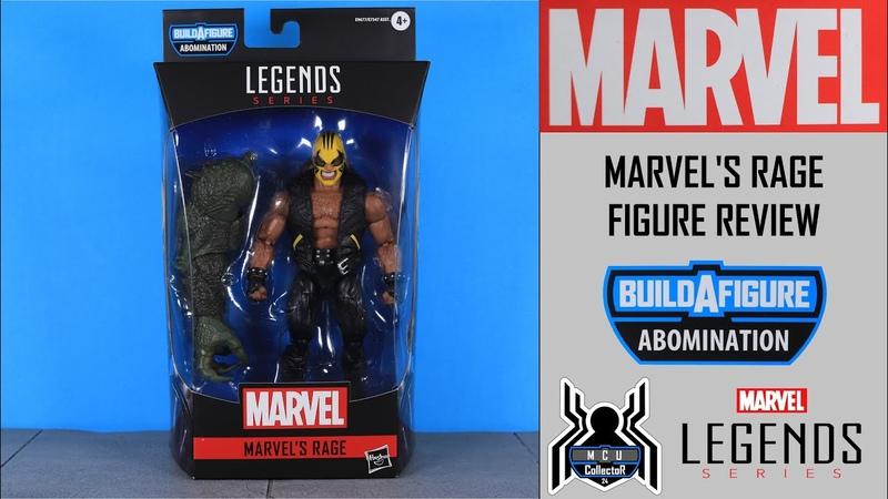 Marvel Legends RAGE Avengers GamerVerse Abomination BAF Wave Figure Review
