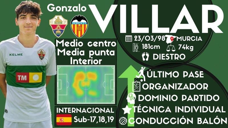 Gonzalo Villar   Elche CF   201819 by Alber Fenoll