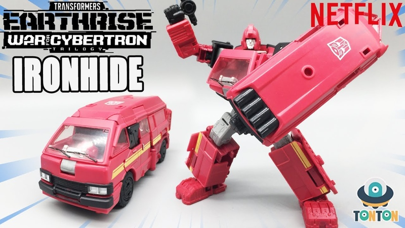 Transformer Netflix WFC Earthrise Deluxe Ironhide Review アースライズデラックスアイアンハイド