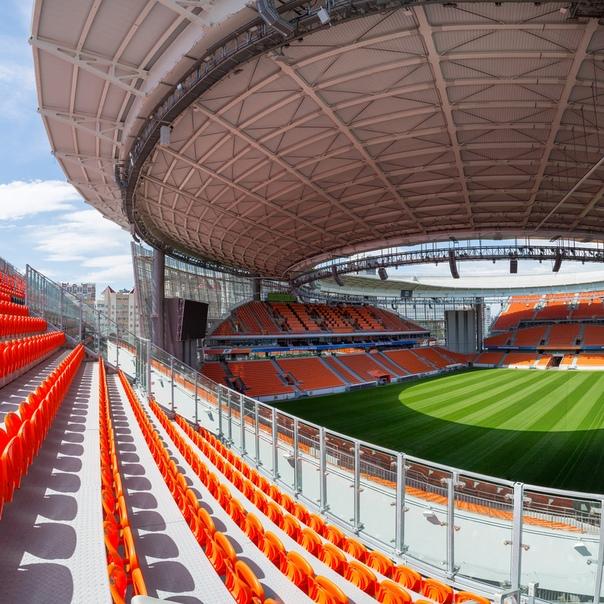 Как сообщает Областная газета, временные трибуны стадиона «Екатеринбург Арены» планируется разобрать в 2021 году