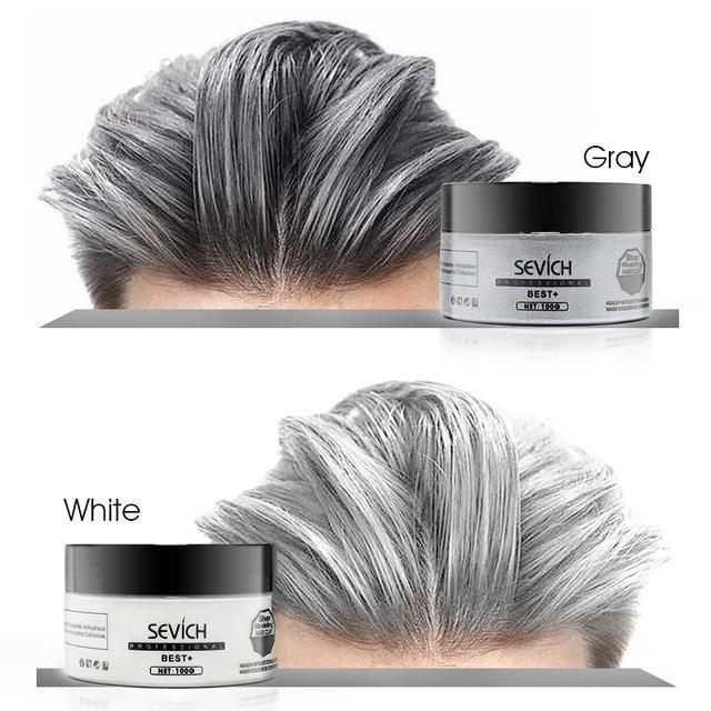 Цветной воск для волос -