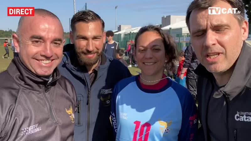 LATOUR BAS ELNE Le club de foot sensibilise les jeunes à la santé TVCAT