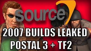 POSTAL 3 + TEAM FORTRESS 2 2007 Builds/Design Docs LEAKED