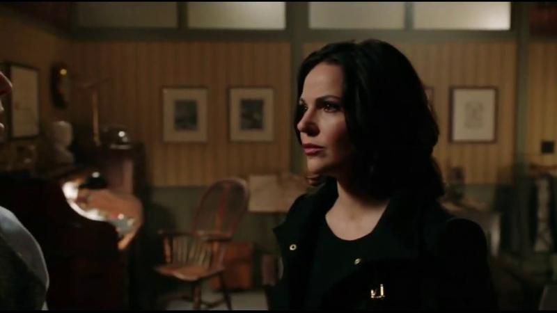 Кора в обличии Реджины сымитировала смерть Арчи Хоппера 2x10
