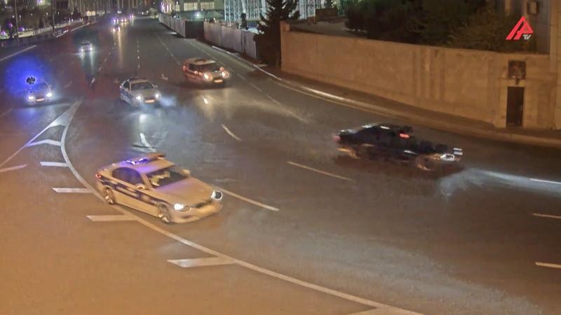 Bakıda avtoxuliqanlıq edən sürücü saxlanıldı HADİSƏ ANI