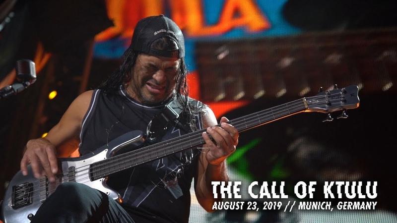 Metallica The Call of Ktulu Munich Germany August 23 2019