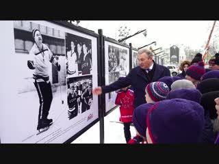 Открытие выставки к 100-летию Анатолия Тарасова