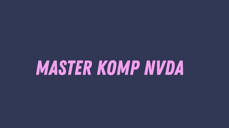 Настраиваем экранный диктор NVDA