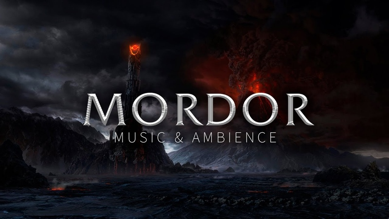 Lord of the Rings Music Volcano Ambience Mordor Theme