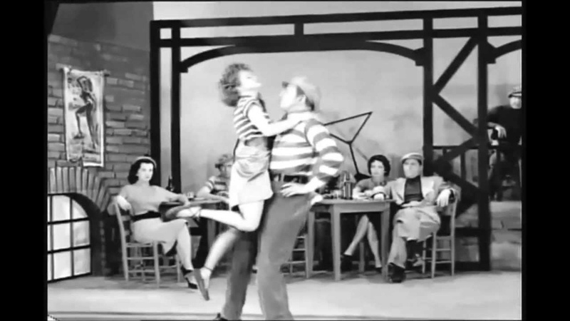 Apache Dance Ray Bolger Dolores Graham w Don Graham 1955 MP4 AVI Mix