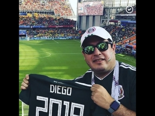 Мексиканец приехал на чемпионат исполнить мечту погибших родственников