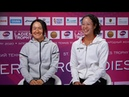 Shuko Aoyama and Ena Shibahara WTA Ladies Trophy 2020