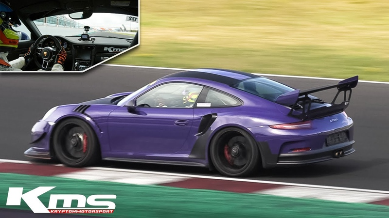 Porsche 991 GT3 RS by Krypton Motorsport w Supercup Exhaust fast OnBoard at Misano Circuit!