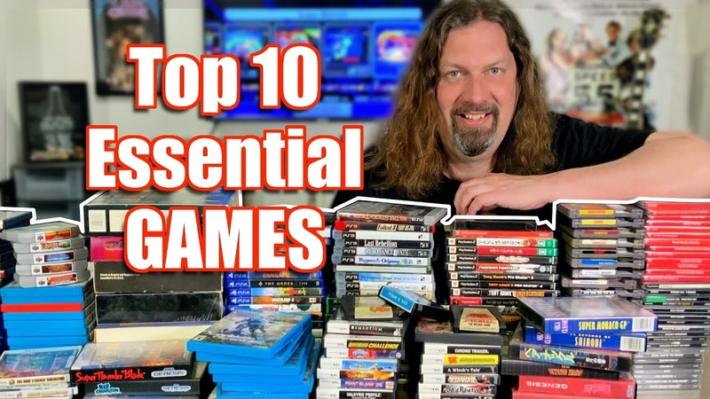 Top 10 Games EVERYONE should PLAY at least once