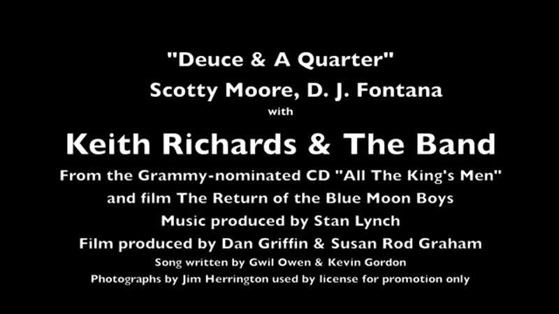 Levon Helm Keith Richards Scotty Moore D J Fontana The Band Deuce A Qu