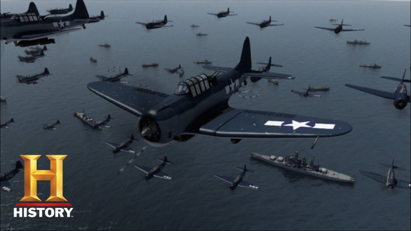 D-DAY IN THE PACIFIC (Part 2) Americans Hunt Down The Imperial Fleet   Battle 360   History