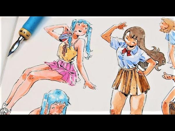 Brazilian watercolors! New years thoughts