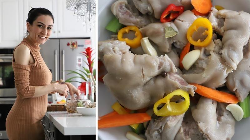 Как Приготовить Можож Маринованные свиные ножки Рецепт от Эгине Heghineh Cooking Show смотреть онлайн без регистрации