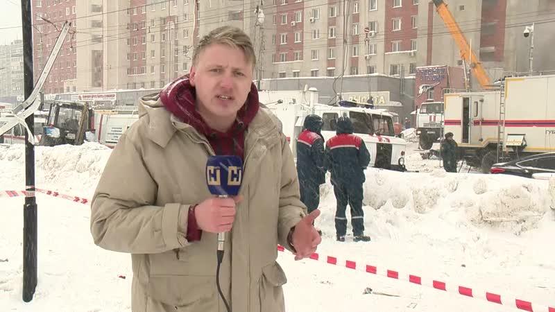 Прямое включение с места взрыва на Мещерском бульваре в Нижнем Новгороде