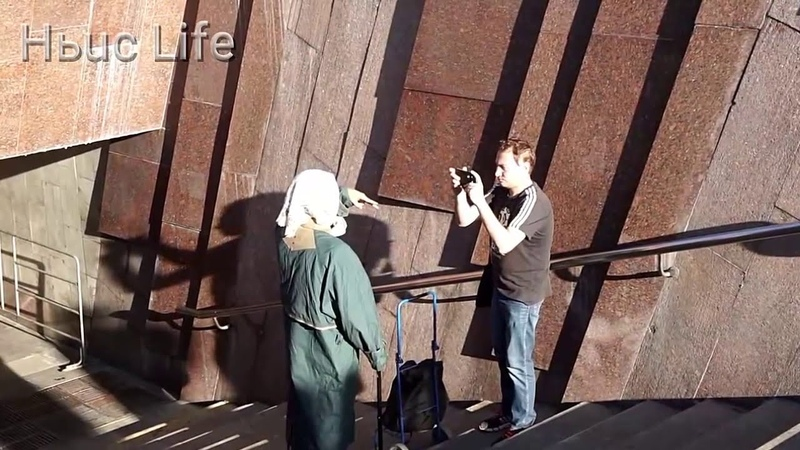 Люди в Шоке - Бабуля на моноколесе - Бабка с Тюжелой Сумкой - Бабка на Кироскутере - Пранк