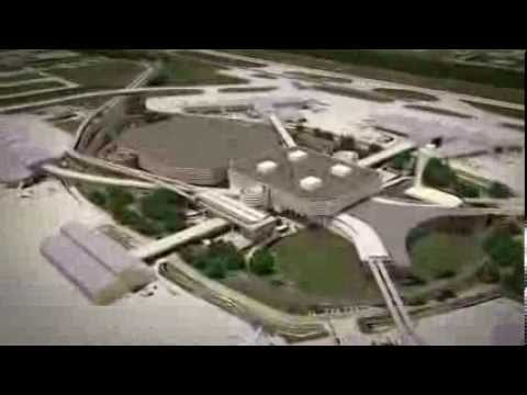 Tampa International Airport's ConRAC and Automated People Mover (animation)