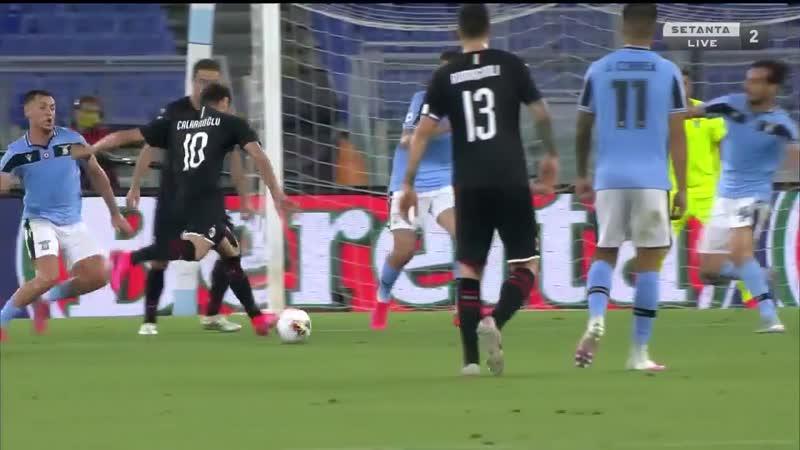 Лацио Милан. Серия А. Lazio vs Milan. Serie A TIM