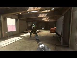 I think i've found a bug on Shoothouse. Modern Warfare