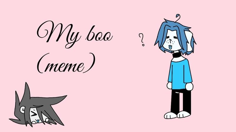 My boo animation meme FlipaClip [Gift Doggy Hav] I love you bro❤