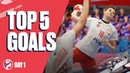 Top 5 Goals Preliminary Round Day 1 Womens EHF EURO 2020