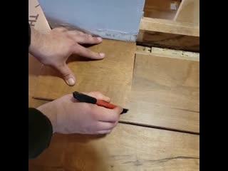 Как можно обрезать ламинат