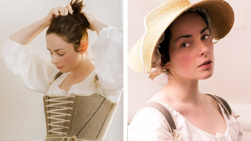 Getting dressed in the 18th century working woman
