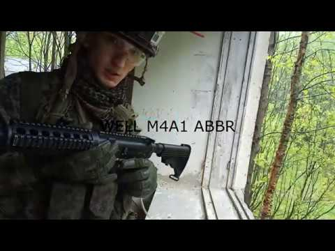 WELL M4A1 ABBR (AirBlowBackRifle)