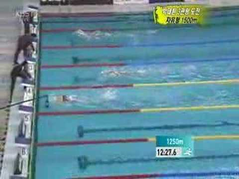 2006 Doha AG Swimming Mens 1500m Freestyle Final