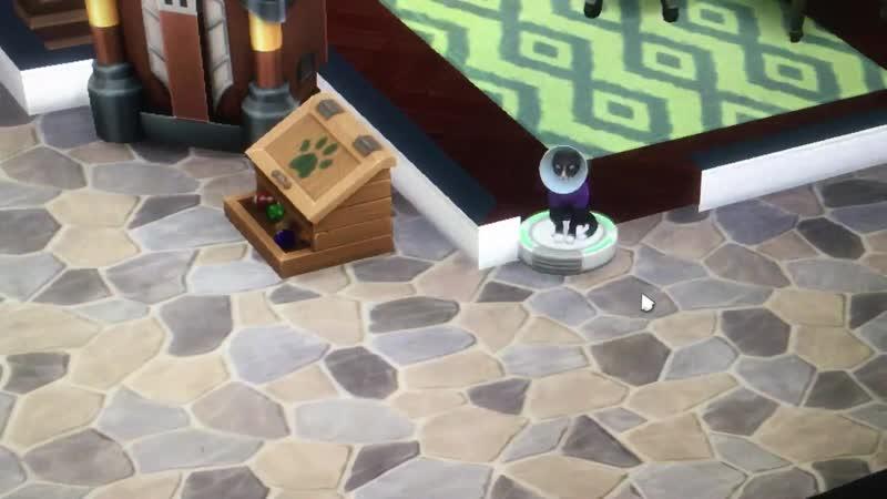 Коты они и в Африке коты (the sims video)