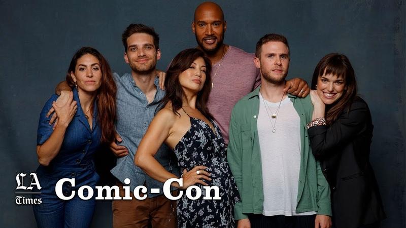 'Agents of SHIELD' cast recount how Jeff Ward was cast as Deke Shaw Comic Con