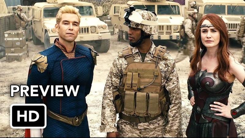 The Boys Season 2 Stormfront Clip (HD) Superhero series