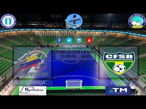 Cuartos de Final del Mundial de Futsal Argentina 2019⚽🏆 COLOMBIA vs BRASIL en VIVO