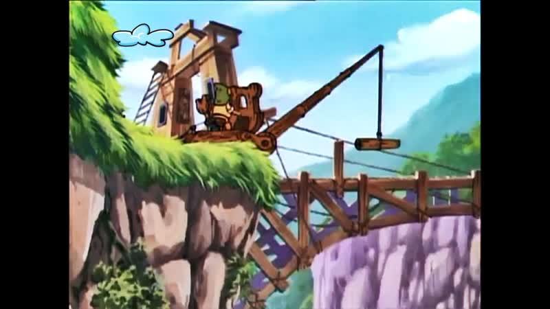 42 Мост через реку Гамми Душа общества ♥ Приключение мишек Гамми Мультики для детей