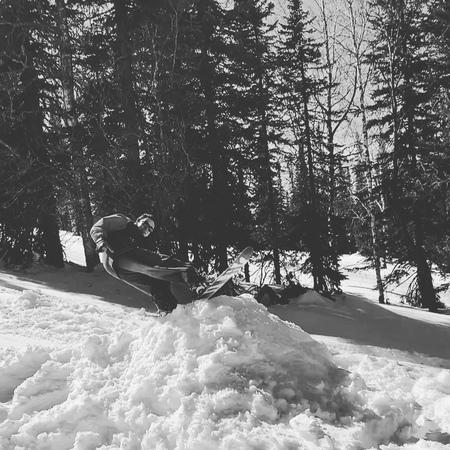 """Инструктор по сноуборду on Instagram: """"Продолжаем сезон 19/20, треним на свежем воздухе в дали от больших городов. . Брегите себя ✌️ . . . 🎥 @semikuz . . gesh sheregesh…"""""""