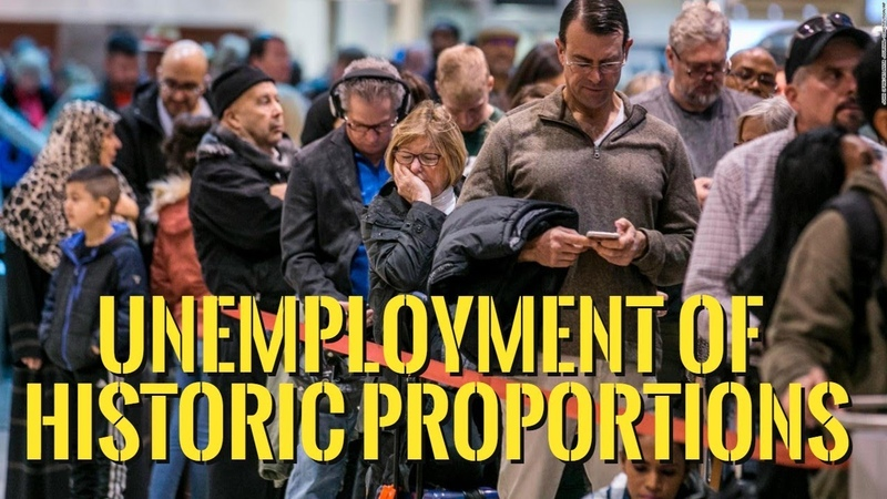 👉Jobs Apocalypse, Debt Over 25 Trillion, Hyperinflation - The Economy Headed Off The Cliff !!