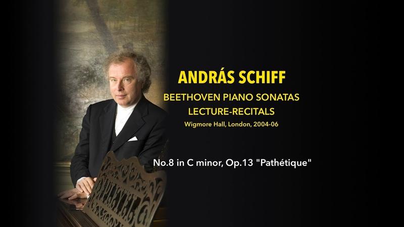 András Schiff - Sonata No.8 in C minor, Op.13 Pathétique - Beethoven Lecture-Recitals