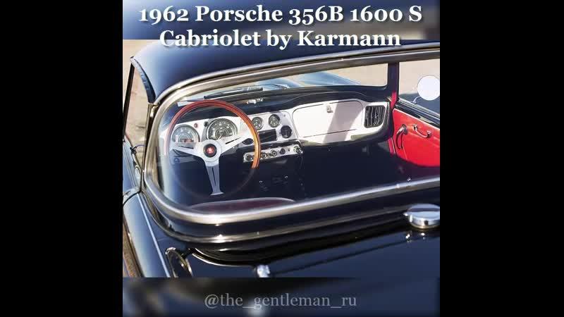 1962 Porsche 356B 1600 S Cabriolet by Karmann