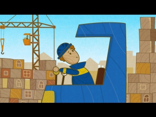 #МАШИНКИ - Автокран (35) - Мультики для детей!