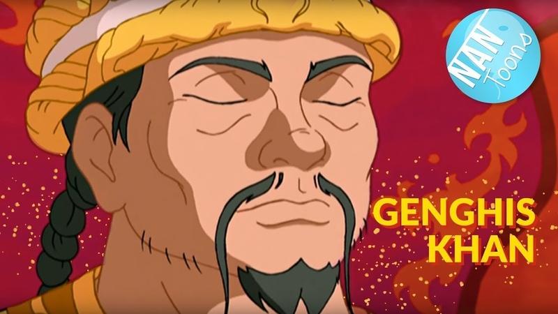 Чингисхан Весь фильм для детей на русском языке GENGHIS KHAN TOONS FOR KIDS RU
