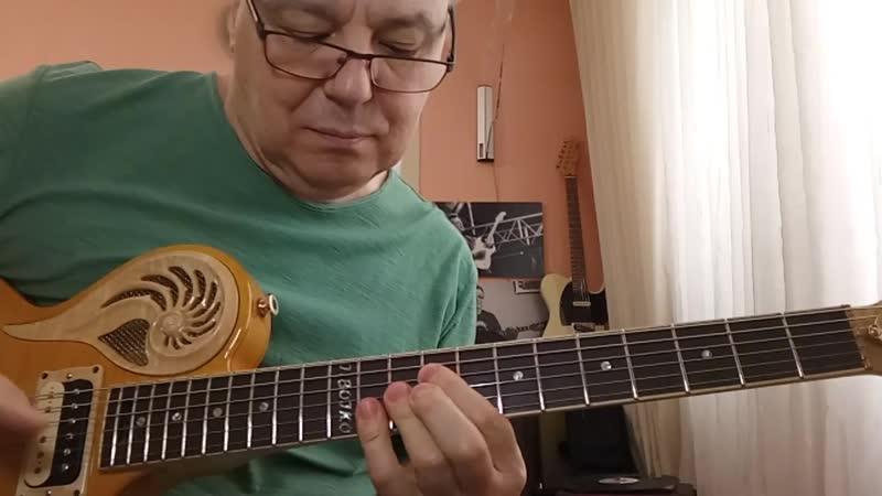 Из рубрики Разминки вариант регармонизации One Note Samba